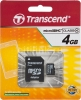 Карта памяти SDHC/microSDHC TRANSCEND